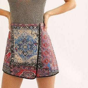 Free People Mad Love Wrap Skirt